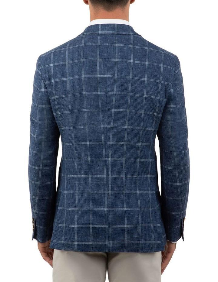 Modern Fit Hawthorn Blue Check Jacket FCM300 image 3