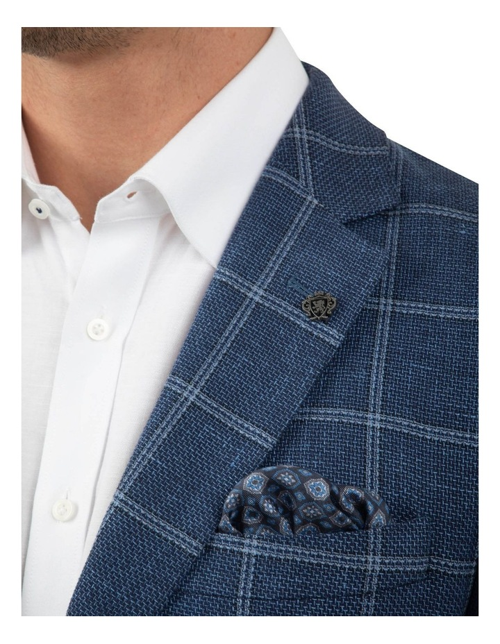 Modern Fit Hawthorn Blue Check Jacket FCM300 image 4