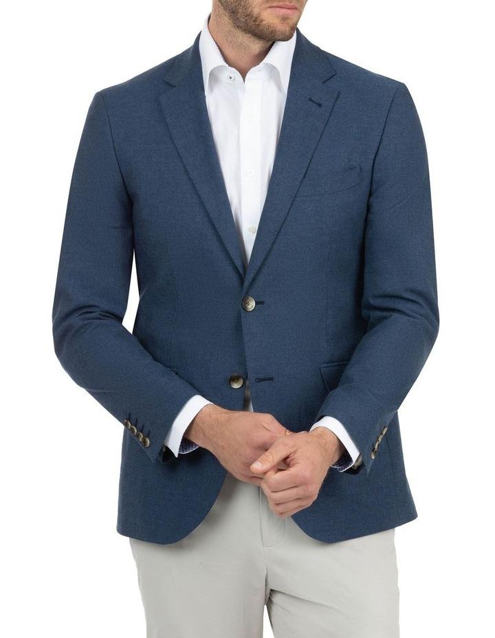 Modern Fit Hawthorn Denim Blue Sports Jacket FAJ789 image 1