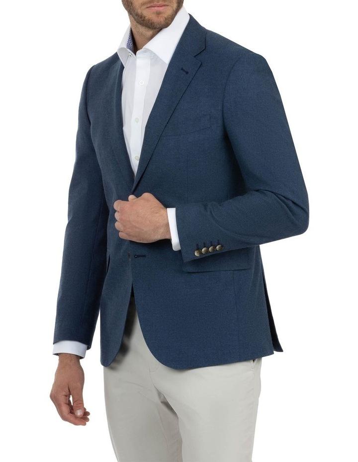 Modern Fit Hawthorn Denim Blue Sports Jacket FAJ789 image 2