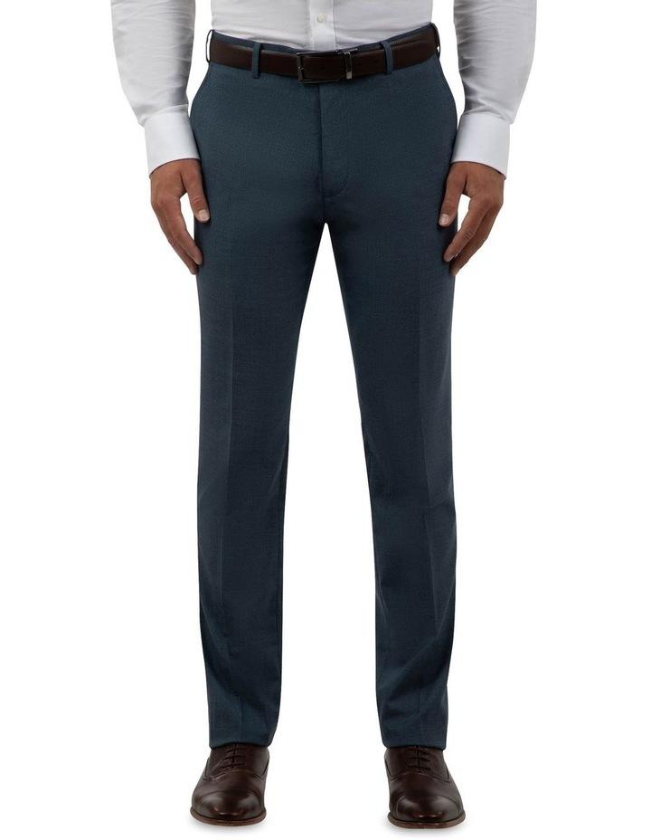 Modern Fit Keane Navy Wool Trouser FCK381 image 1