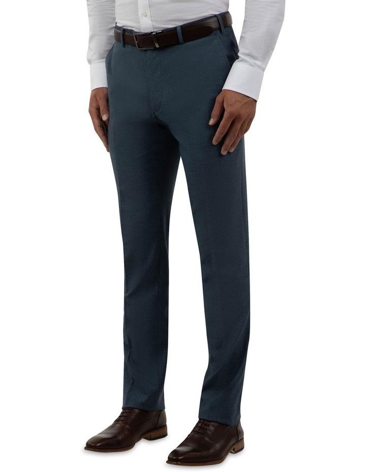 Modern Fit Keane Navy Wool Trouser FCK381 image 2