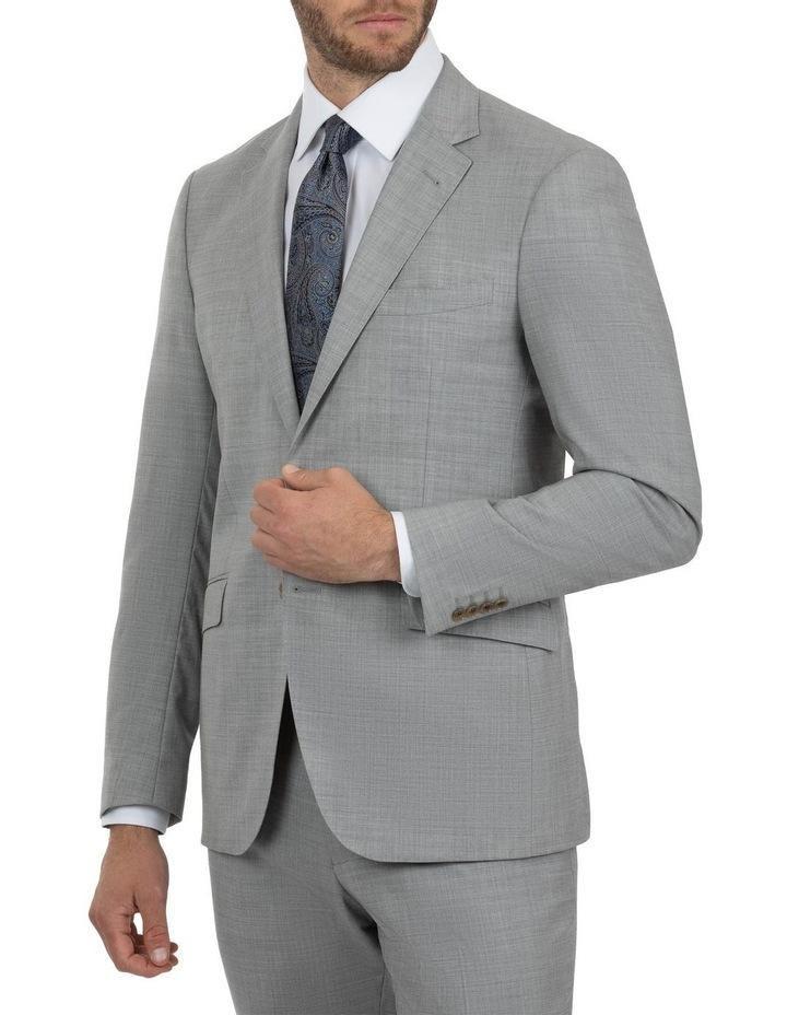 Modern Fit Glamorgan Lt Grey Wool Jacket FCK387 image 2