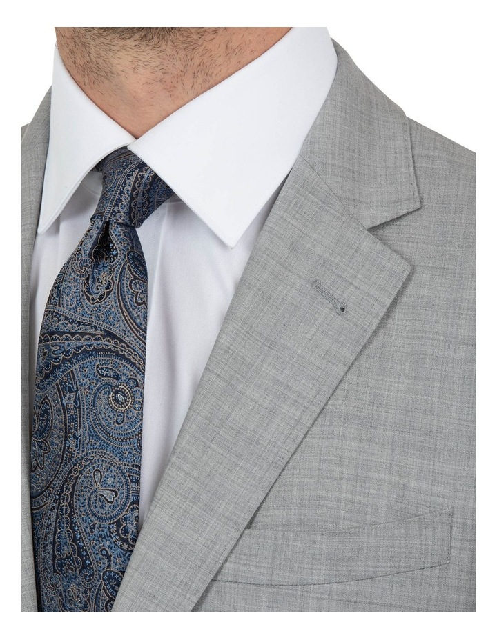 Modern Fit Glamorgan Lt Grey Wool Jacket FCK387 image 4