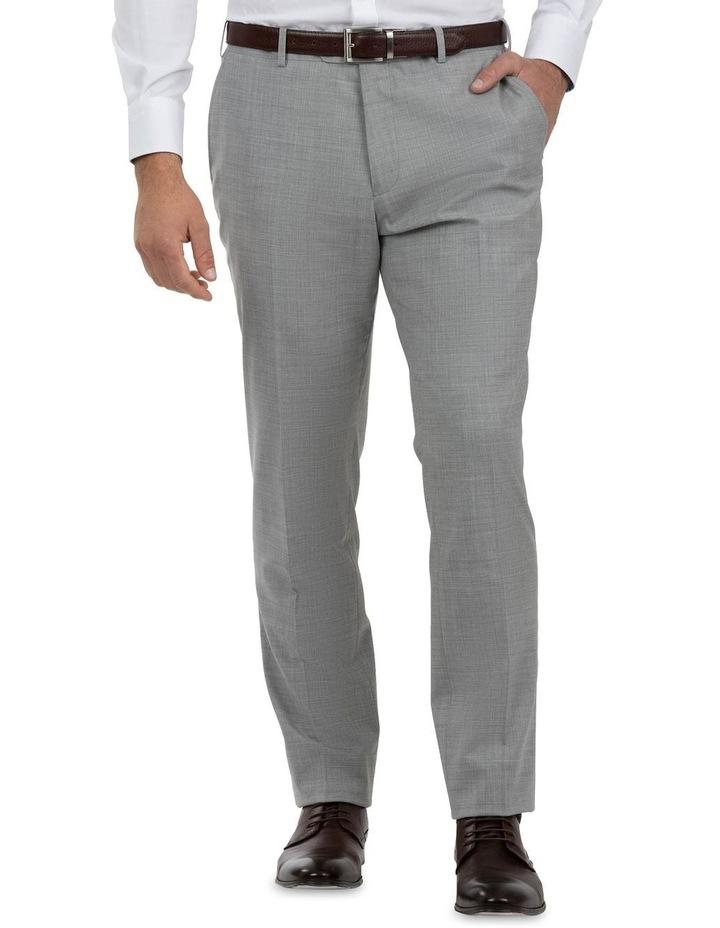 Modern Fit Keane Lt Grey Wool Trouser FCK387 image 1