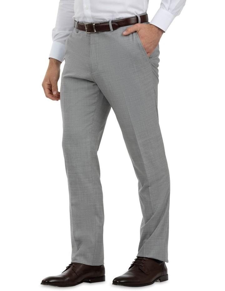 Modern Fit Keane Lt Grey Wool Trouser FCK387 image 2