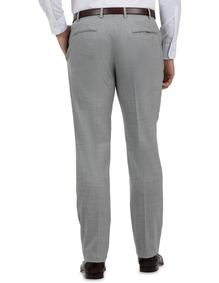Modern Fit Keane Lt Grey Wool Trouser FCK387 image 3