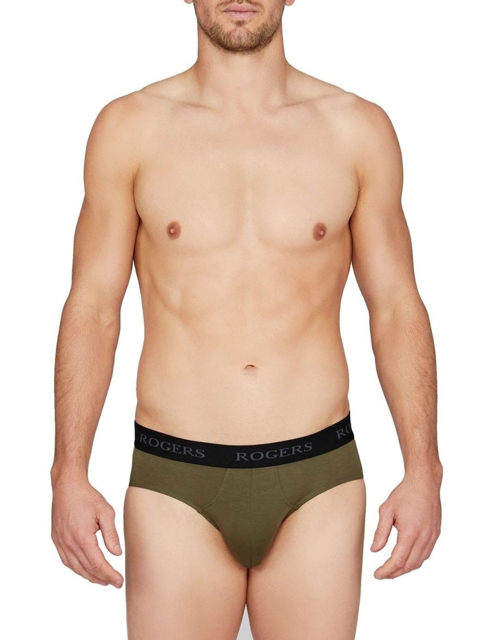 Three-Pack Modal Briefs  Black Band image 4