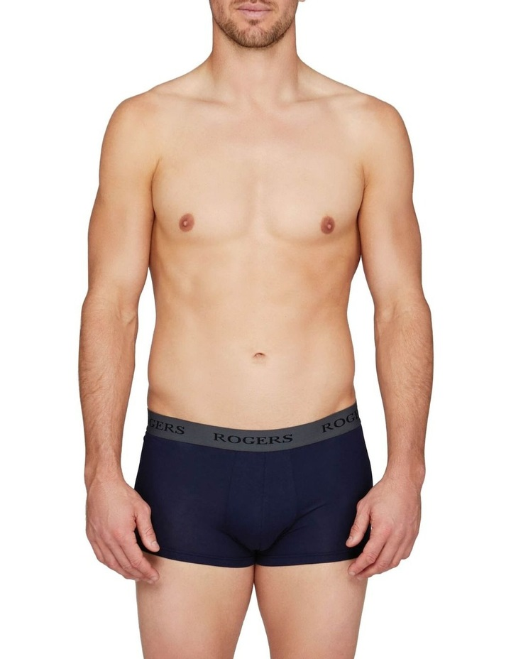 Three-Pack Modal Trunks  Grey Band image 2