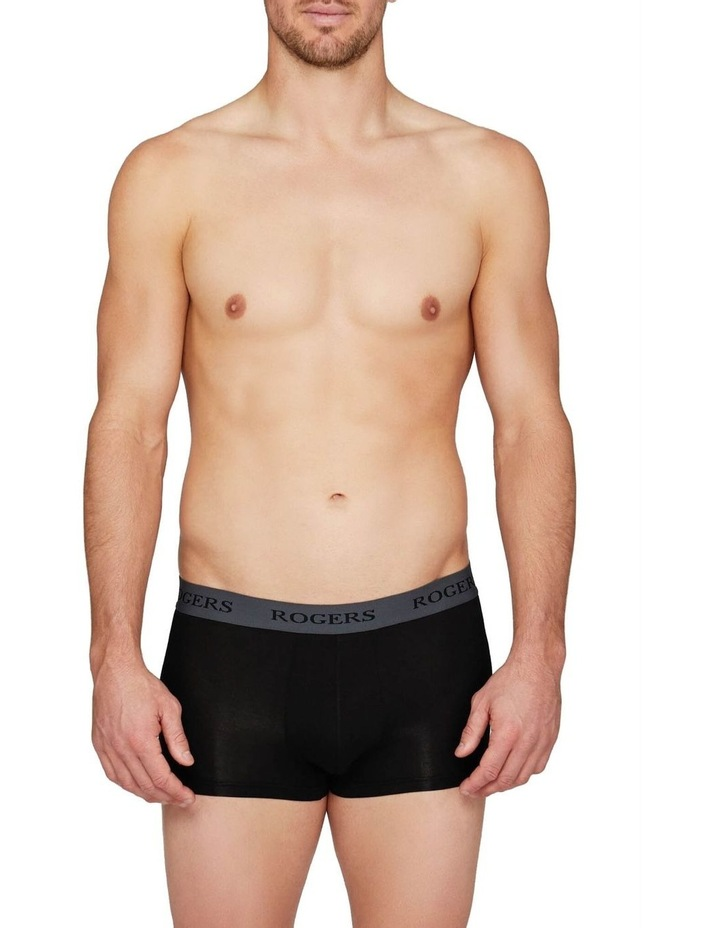 Three-Pack Modal Trunks  Grey Band image 6