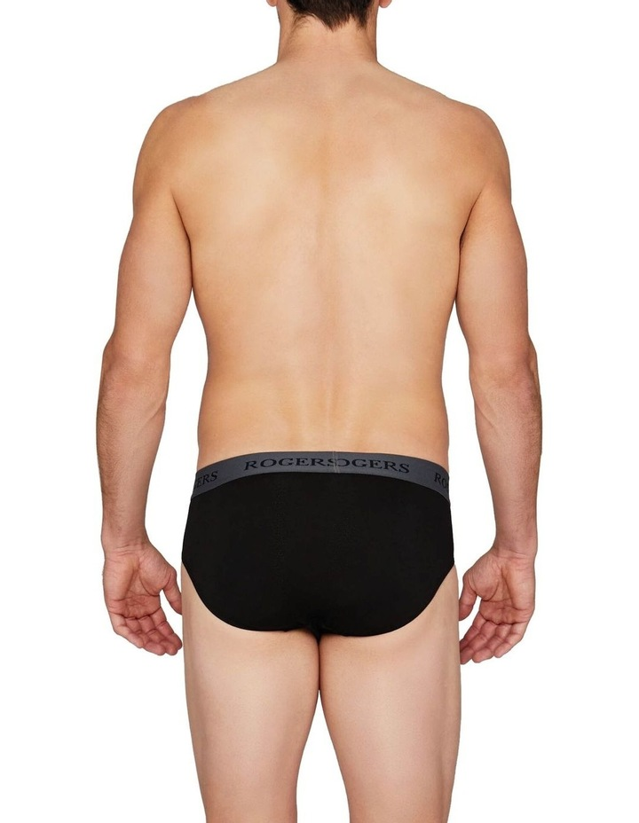 Three-Pack Modal Briefs  Grey Band image 7