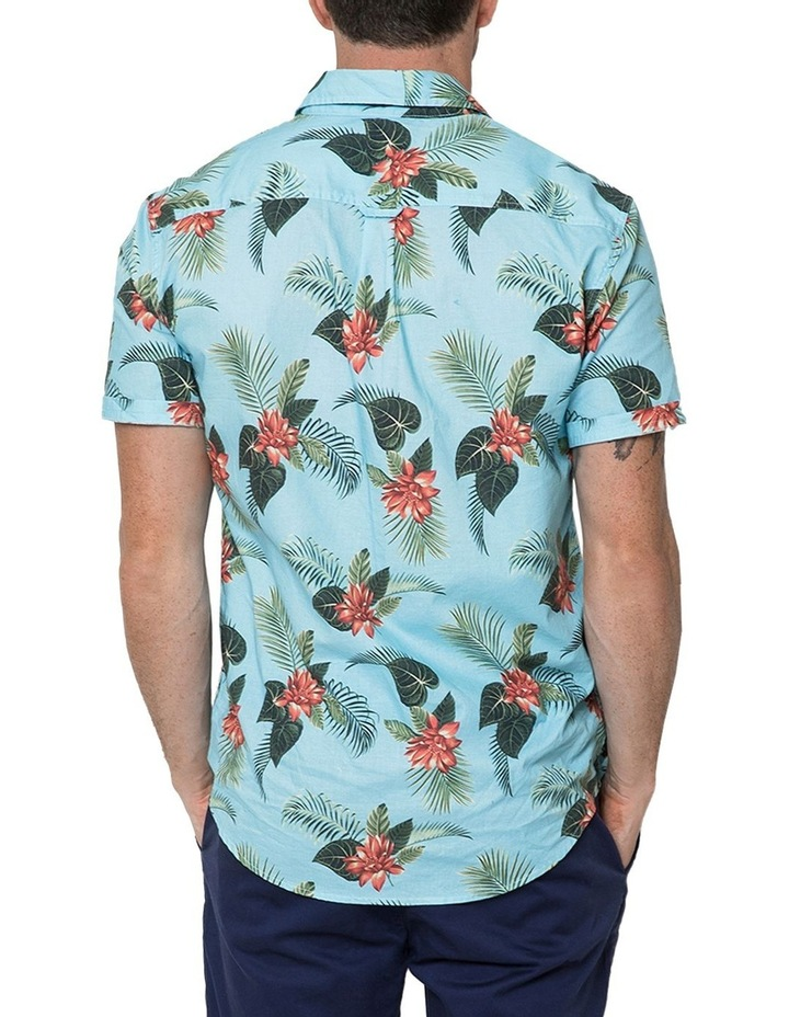 Hawaiian Floral Short Sleeve Shirt image 2