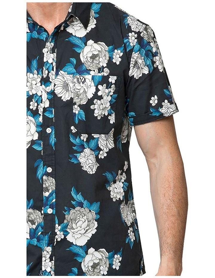 Japanese Peony Short Sleeve Shirt image 3
