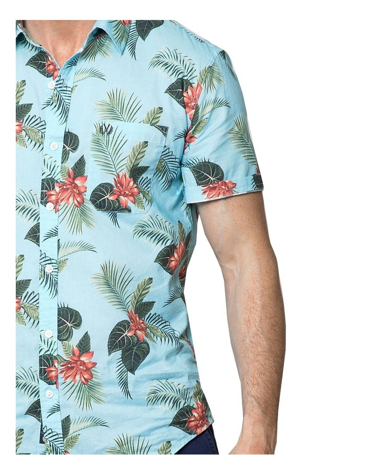 Hawaiian Floral Short Sleeve Shirt image 3