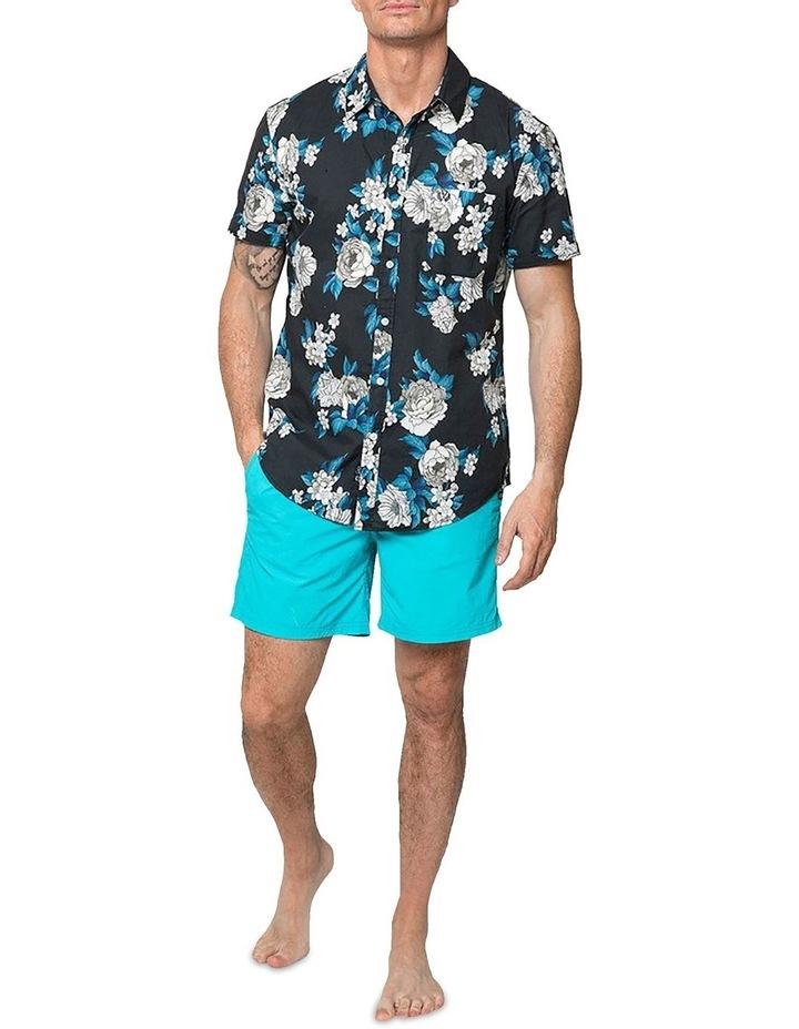 Japanese Peony Short Sleeve Shirt image 4