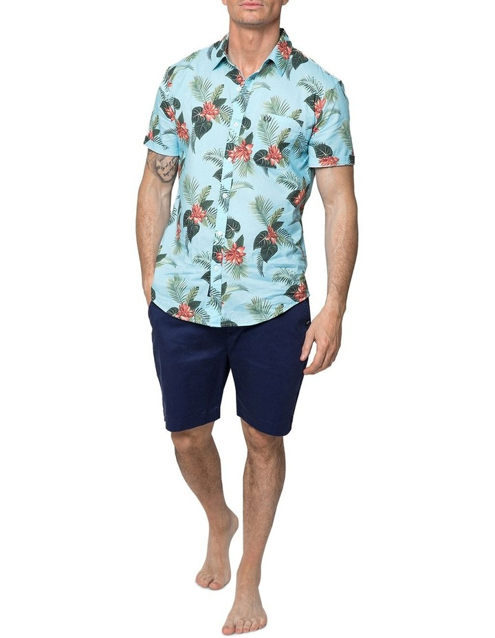 Hawaiian Floral Short Sleeve Shirt image 4