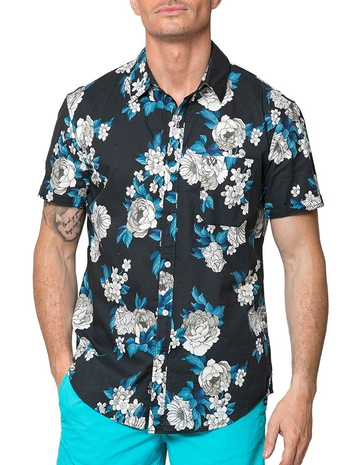 Japanese Peony Short Sleeve Shirt image 1