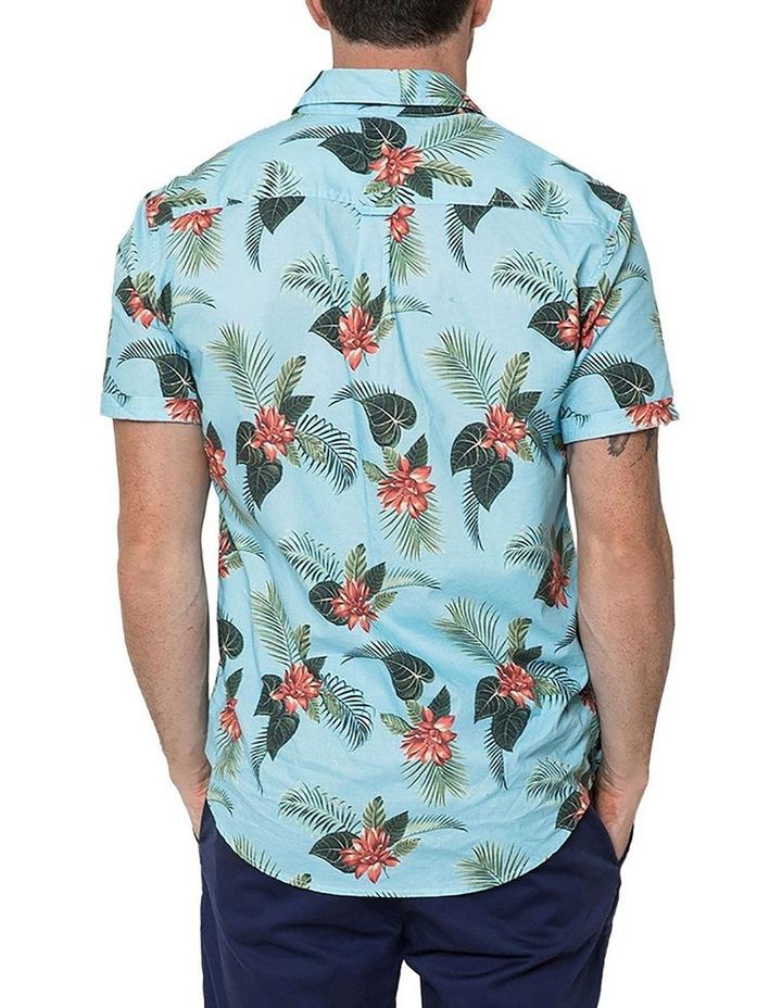 Hawaiian Floral Short Sleeve Shirt image 2