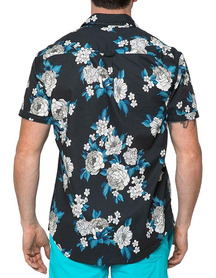 Japanese Peony Short Sleeve Shirt image 2