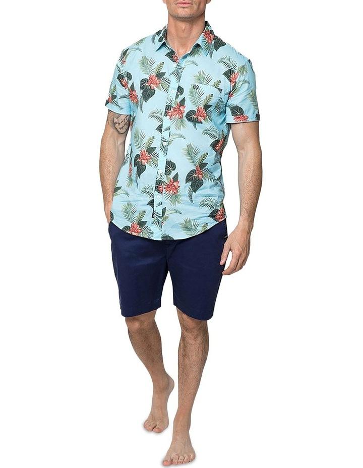 Hawaiian Floral Short Sleeve Shirt image 4