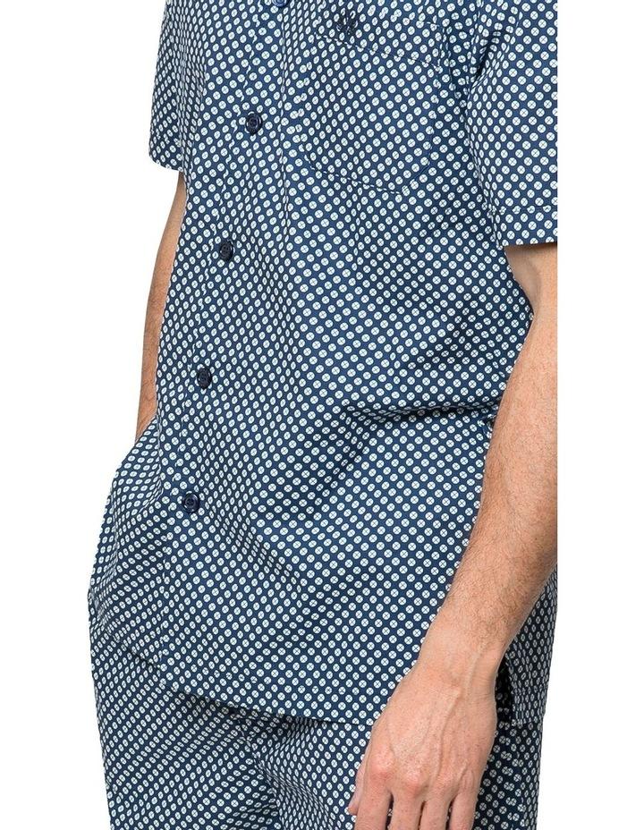 Globe Trotter Button Up Pyjama Set image 3