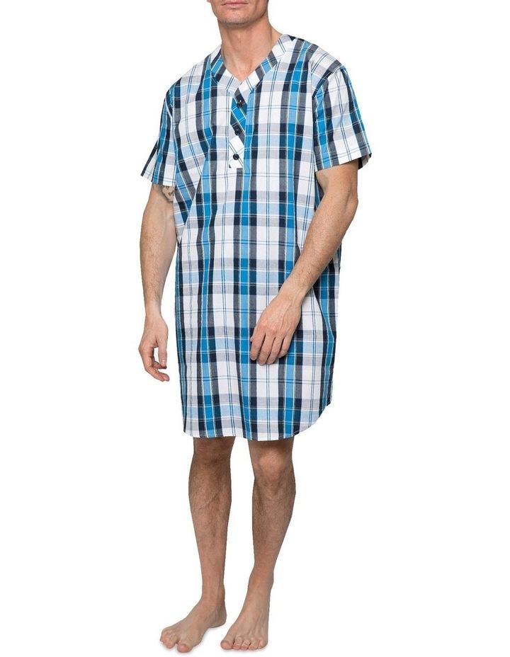 Blue Check Nightshirt Pyjama image 1