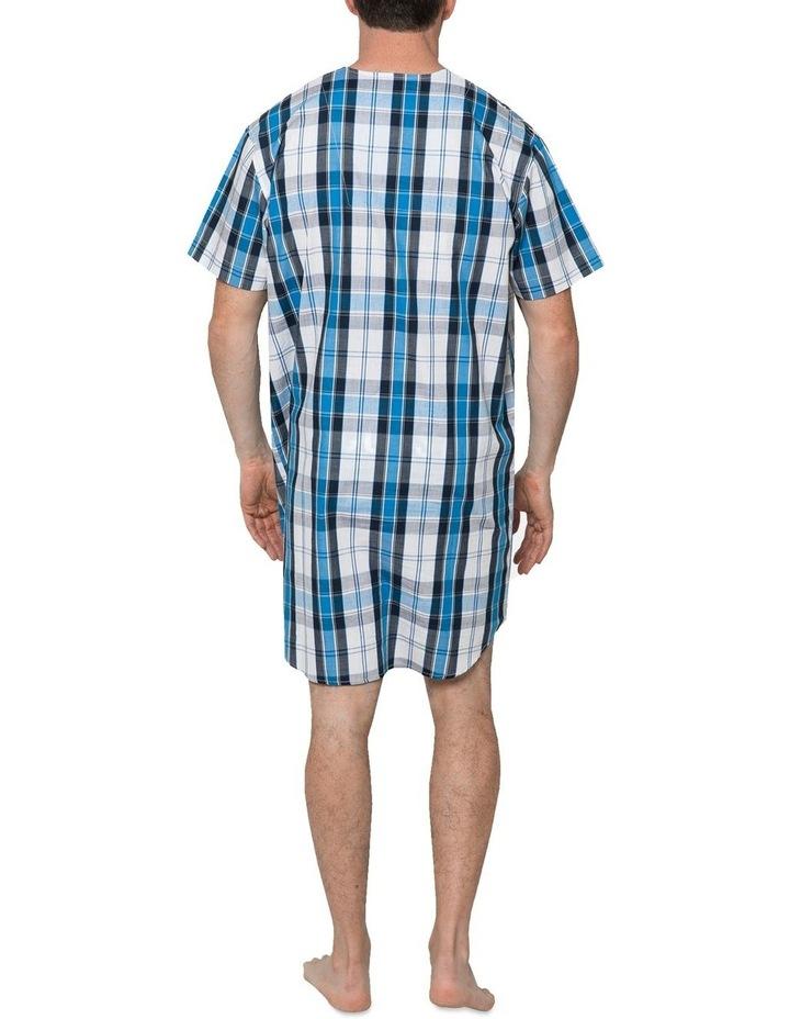 Blue Check Nightshirt Pyjama image 2