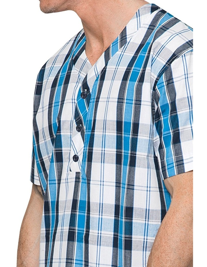 Blue Check Nightshirt Pyjama image 3