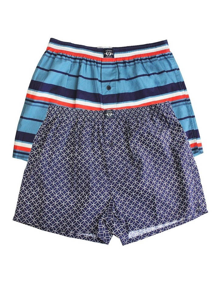Two Pack Woven Geo Boxers image 1