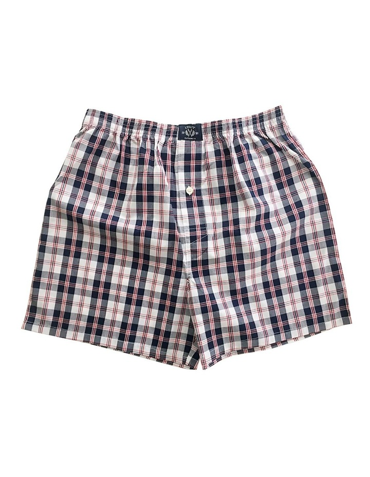 Two Pack Woven Grey Boxers image 2