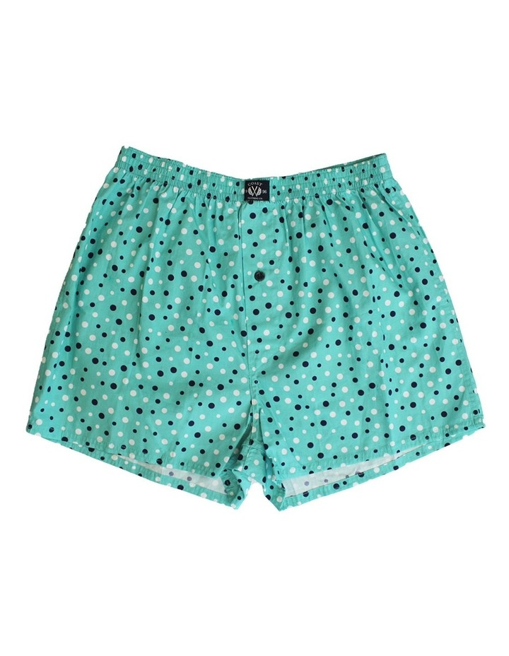 Two Pack Woven Spot Boxers image 2