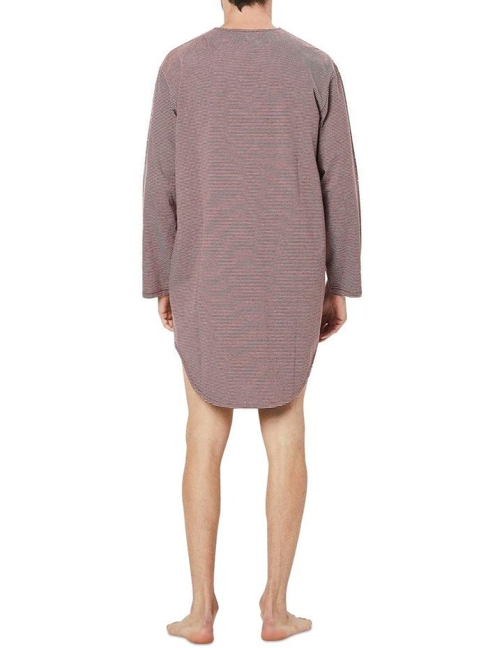 Long Sleeve Stripe Nightshirt image 2