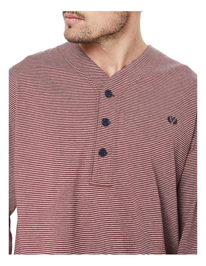 Long Sleeve Stripe Nightshirt image 3