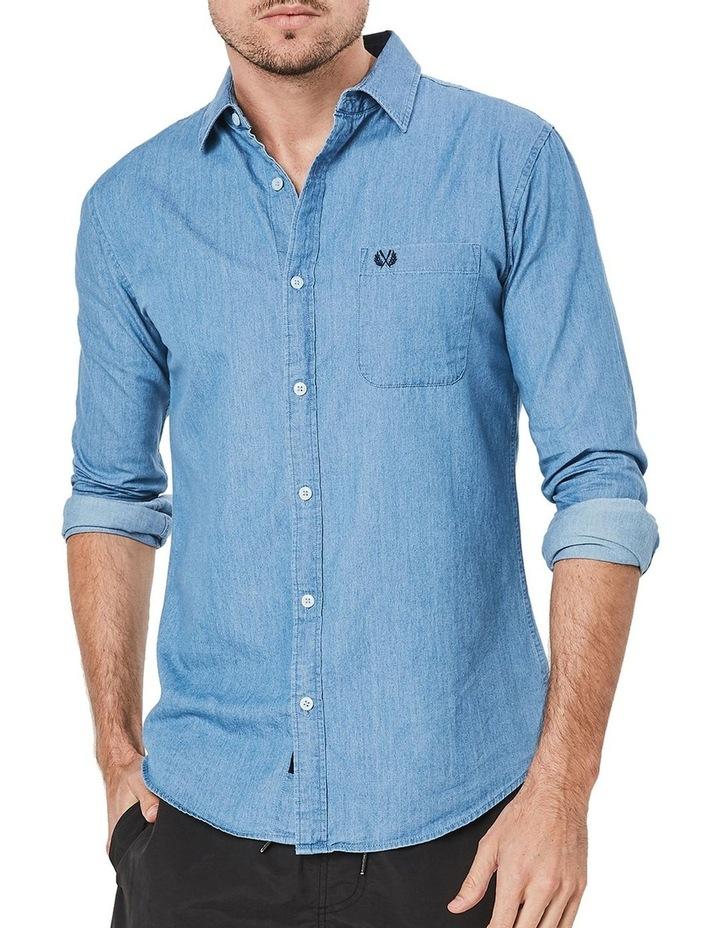 Long Sleeve Denim Shirt image 1
