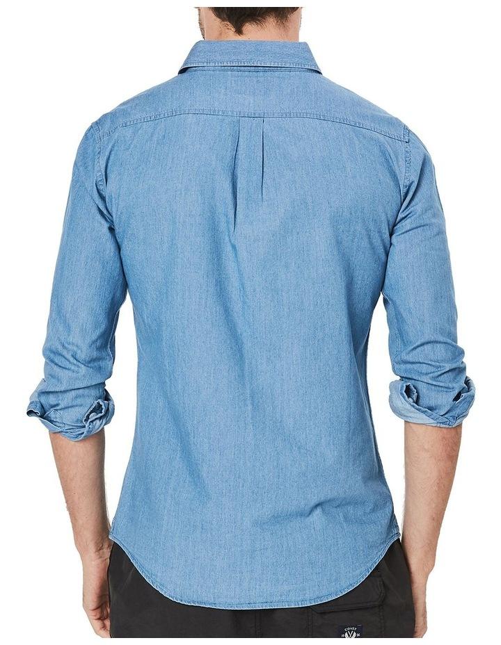 Long Sleeve Denim Shirt image 3