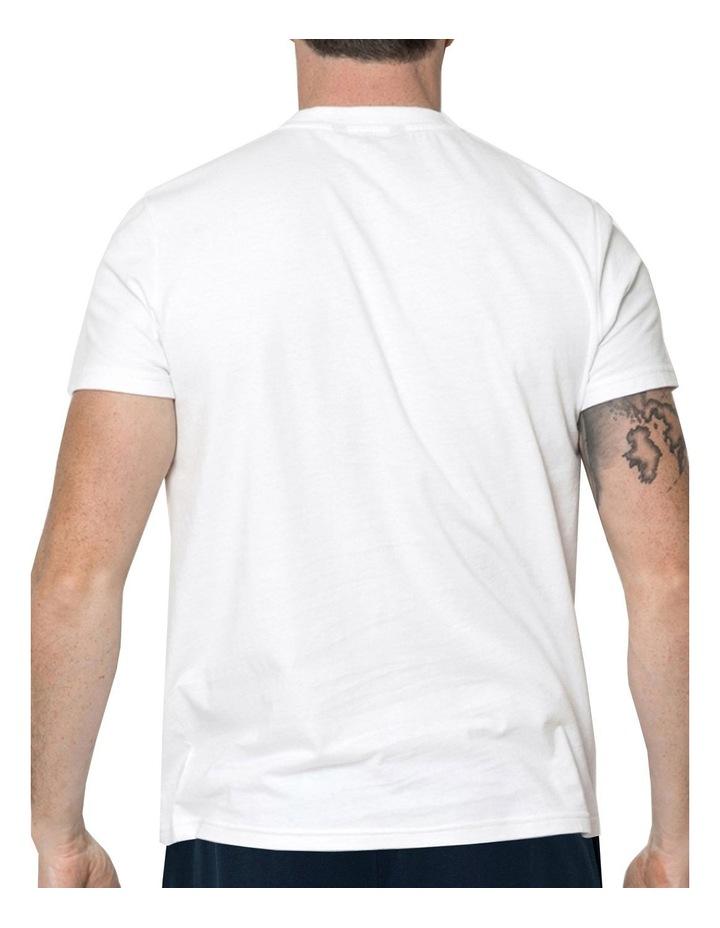 Essential Crew Neck Tee In White image 2