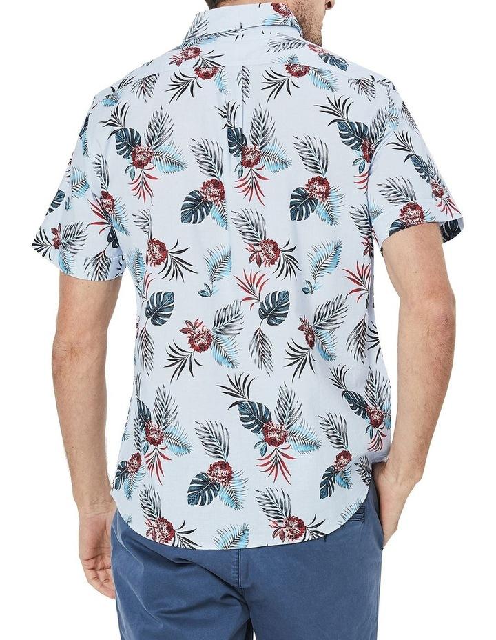 Short Sleeve Destination Printed Poplin Shirt image 2