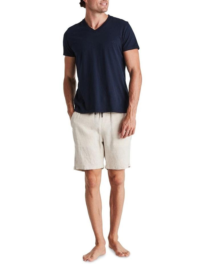 Linen Short in Sand image 6