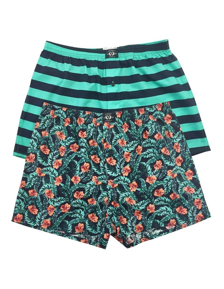 Floral 2 Pack Boxers image 1