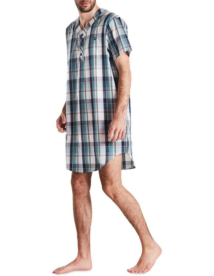 Navy Check Nightshirt Pyjama image 2