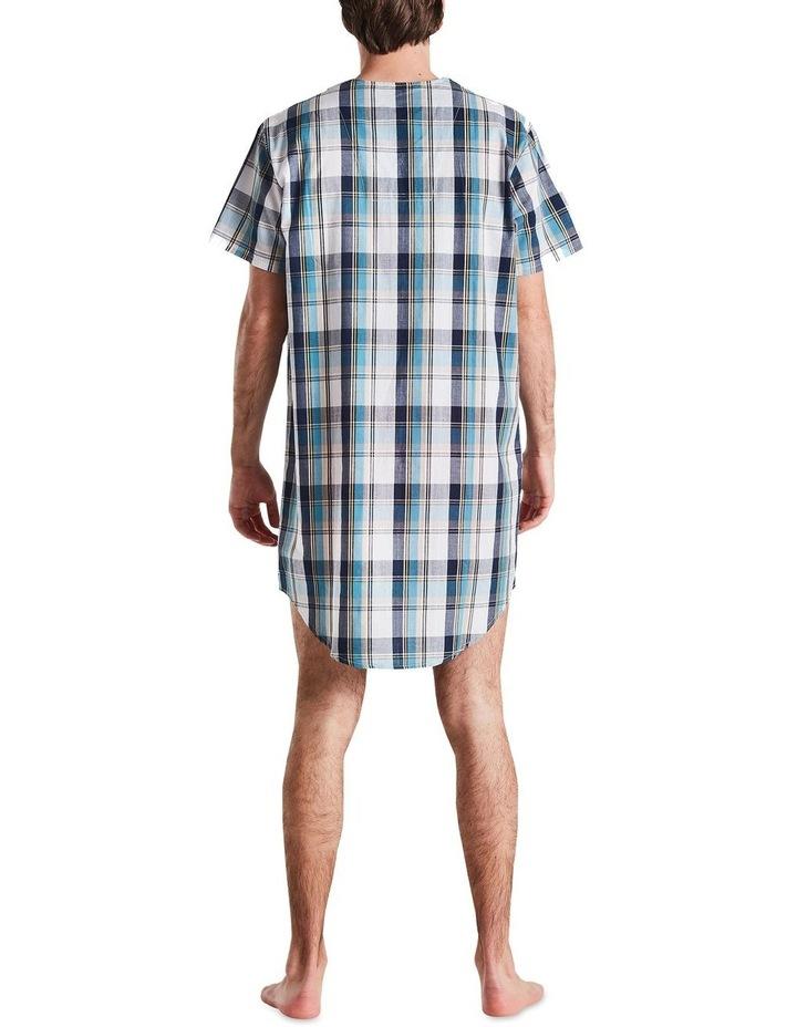 Navy Check Nightshirt Pyjama image 3