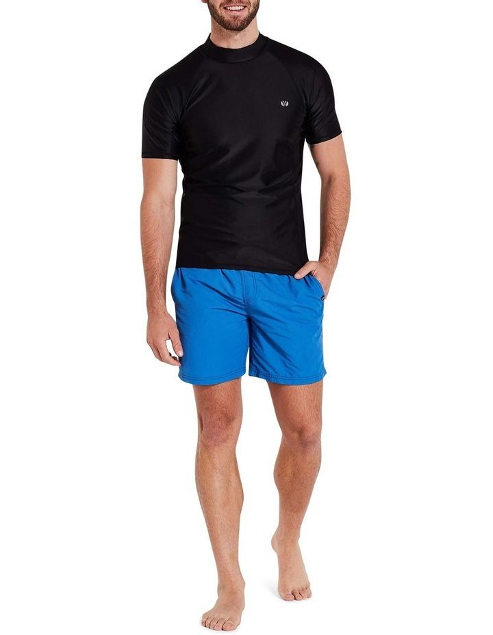 Black Short Sleeve Rash Top image 1