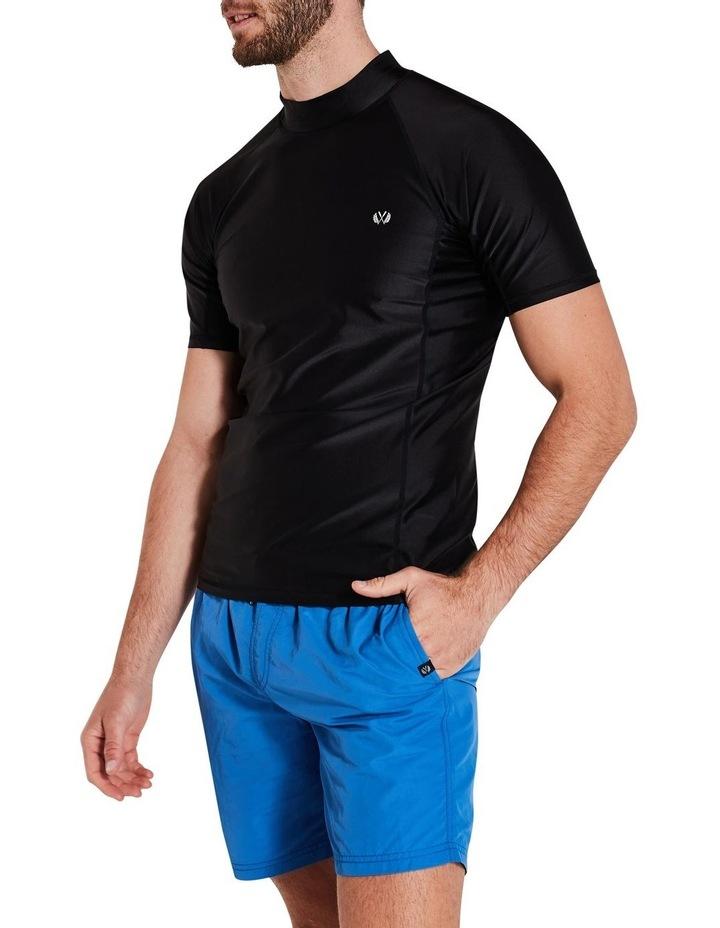 Black Short Sleeve Rash Top image 2