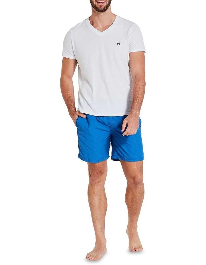 Basic Board Shorts in Blue image 1