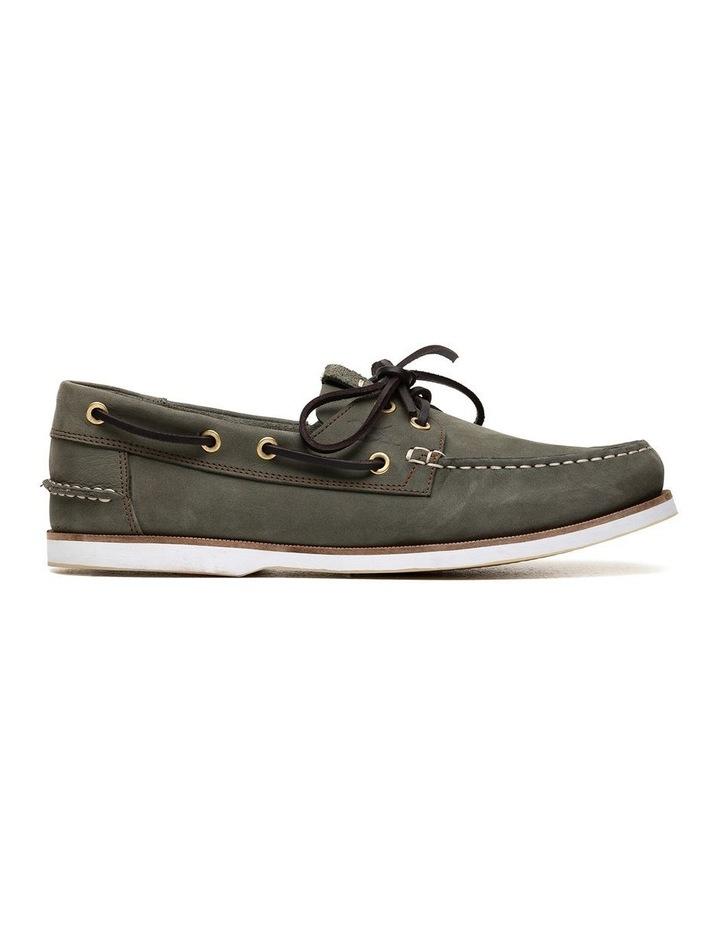Quail Island Boat Shoe - Army image 1