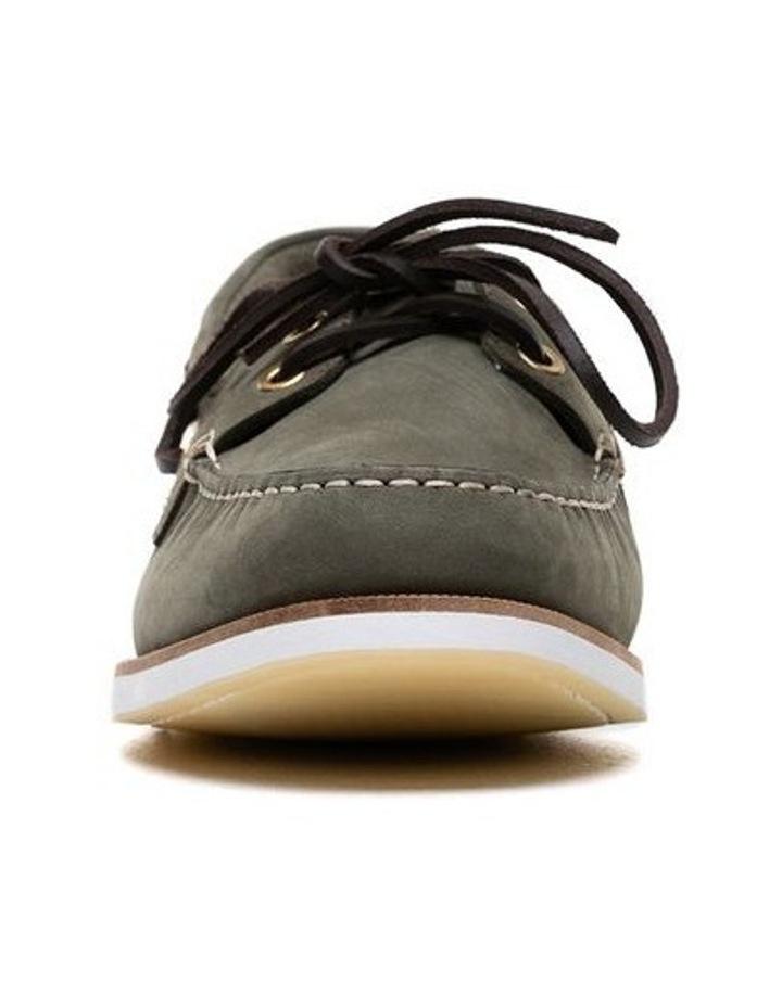 Quail Island Boat Shoe - Army image 5
