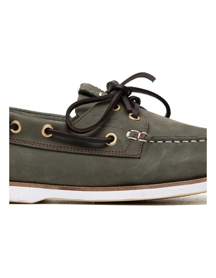 Quail Island Boat Shoe - Army image 7