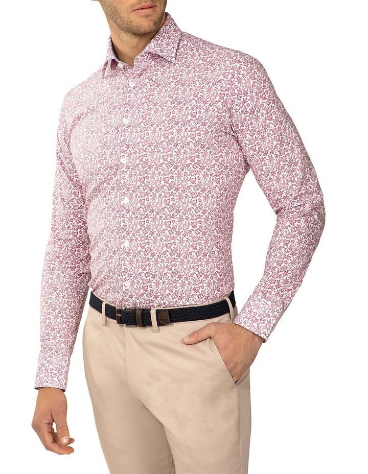 Slim Fit Floral Print Bryson Shirt image 2