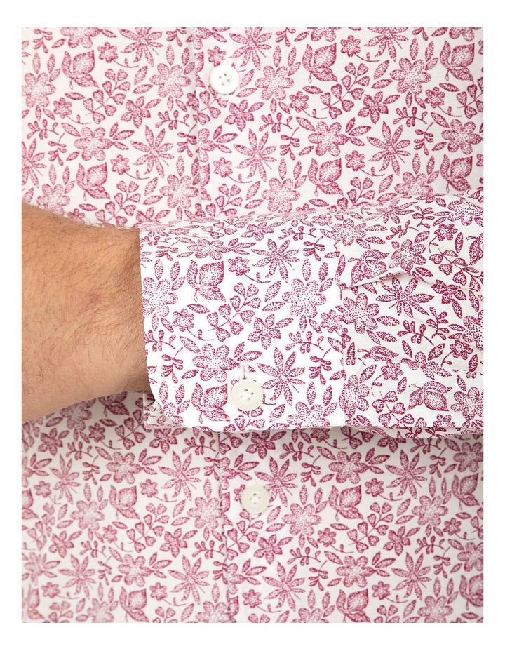 Slim Fit Floral Print Bryson Shirt image 4