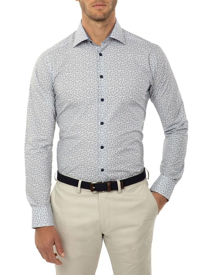 Slim Fit Blue Dayton Shirt image 1